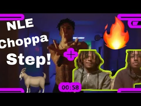 NLE Choppa Step (Official music video) Reaction!