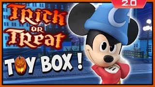 Disney Infinity 2: TRICK OR TREAT Toy Box Share Gameplay (PS4)