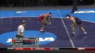 Jesse Delgado 2014 NCAA Wrestling Champion (125 lb)