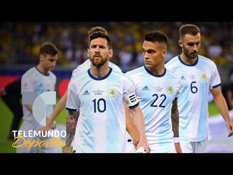 Lionel Messi vive una pesadilla cuando enfrenta a Brasil   Telemundo Deportes