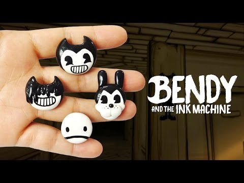 BENDY AND THE INK MACHINE! Polymer Clay Tutorial