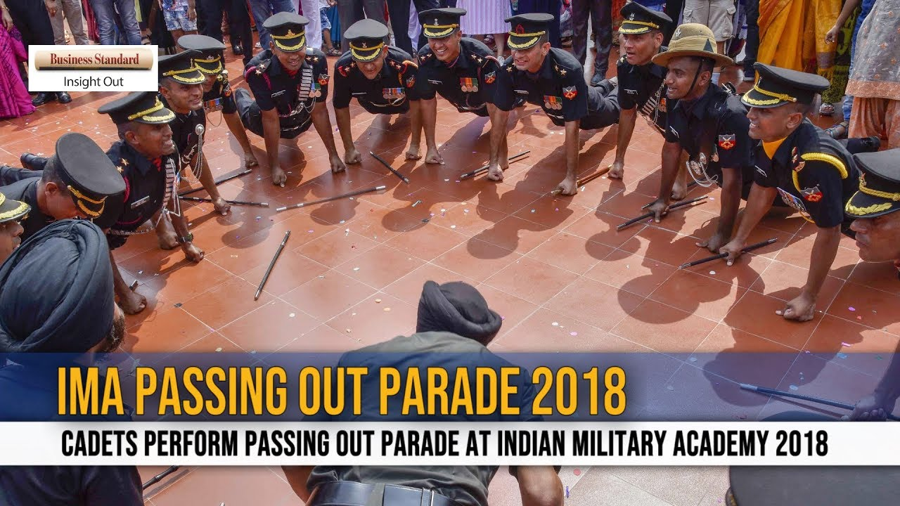 ima passing out parade 2018 youtube