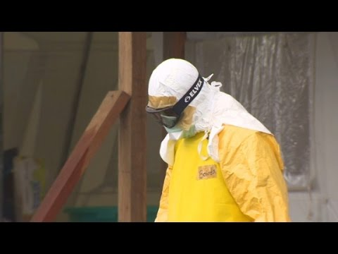 American leads largest Ebola treatment center