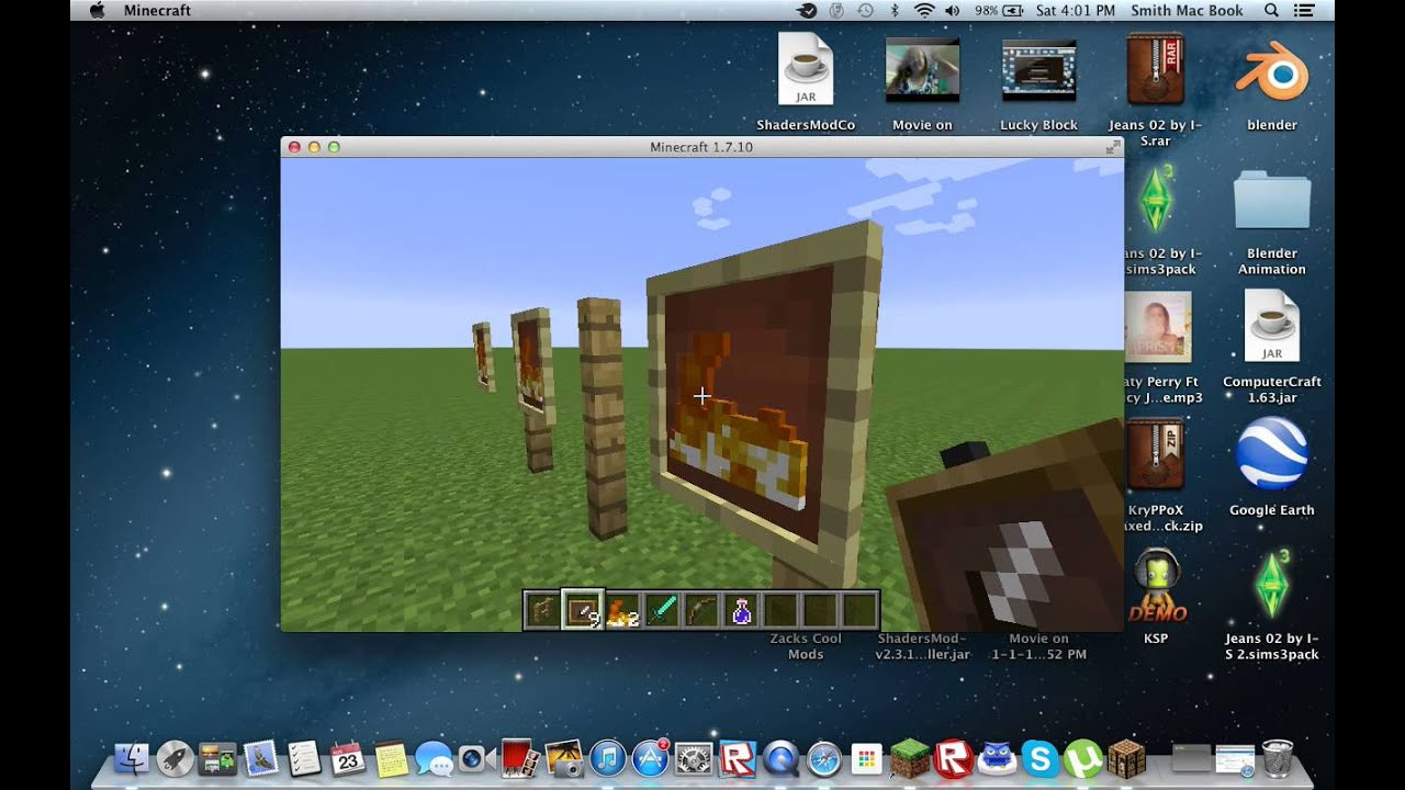 How To Make A Cool Item Frame Glitch - YouTube