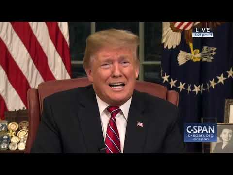 President Trump Border Security Address (C-SPAN)