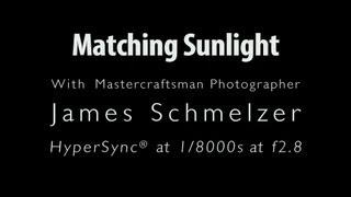 Shallow Depth of Field - Using strobes outside with James Schmelzer