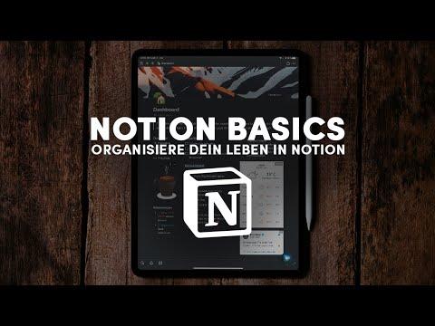 Notion Basics – Alles, was du zu Notion wissen musst! (Tutorial auf Deutsch)