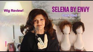 Wig Review:  Selena by Envy in Dark Red