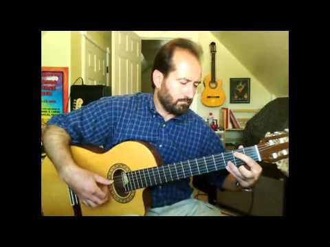 John McCoy: Bach Bouree in Em (Classical Guitar Solo) Guitar Tab, Skype Guitar Lessons On Webcam