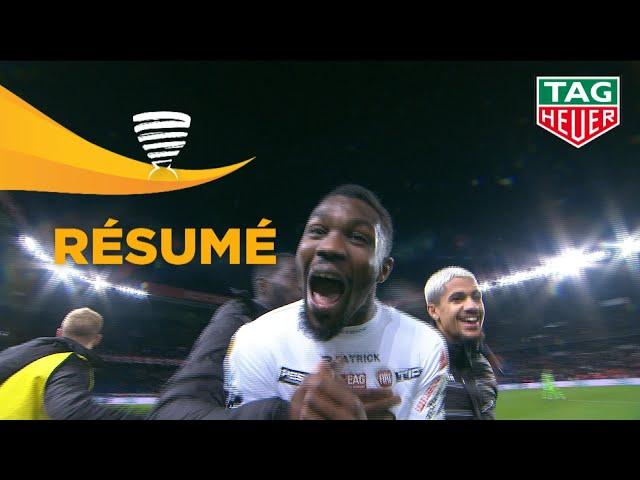 Paris Saint-Germain - EA Guingamp ( 1-2 ) (1/4 de finale) - Résumé - (PARIS - EAG) / 2018-19