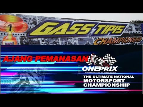 PEMANASAN JELANG ONEPRIX DI TASIK, PEMBALAP MUDA INI IKUT 'GASS TIPIS Championship'