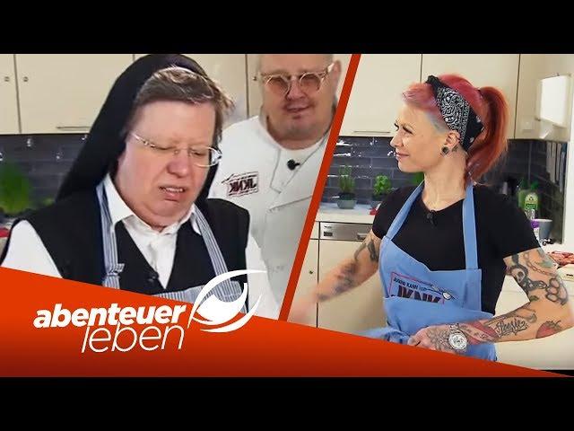 Jugend kocht mit Nonne: Maultaschen aus dem Kloster! | Abenteuer Leben | kabel eins