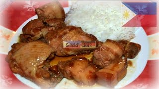 Filipino Food Recipe For Pork And Chicken Adobo