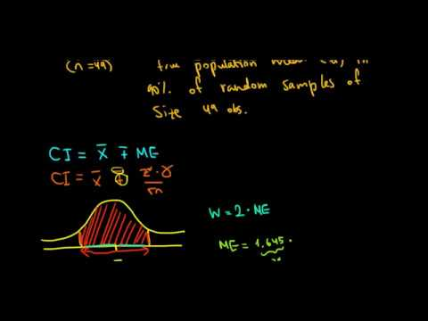 statistics-i-how-to-find-width-of-confidence-interval
