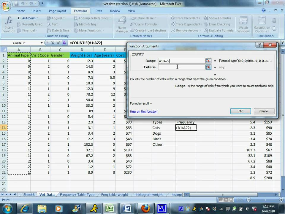 Creating a frequency table for Qualitative data - YouTube Qualitative Data Table