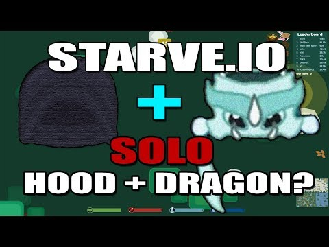 STARVE.IO - SOLO WINTER HOOD + DRAGON QUEST? - FIRST ATTEMPT