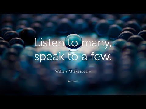 TOP 20 William Shakespeare Quotes