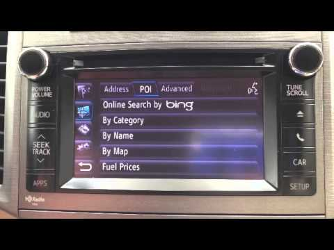 How to Use Voice Commands on Your Toyota Navigation and Entune System