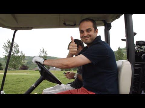 Golfing in Utah