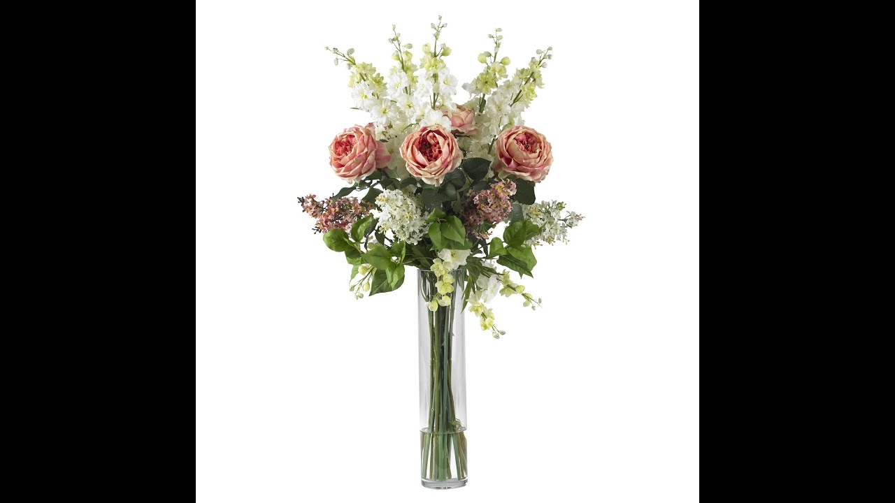 Silk Flower Arrangements Classy And Convenient Youtube
