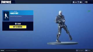 Fancy Feet - Fortnite Battle Royale (Emote)
