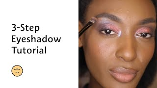 3-Step Eyeshadow Tutorial | Sepнora Beauty Newbie