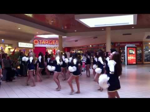 West Albany High Steppers perform at Old Navy Grand Reveal