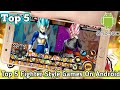 Top 5 New Dragon Ball Z Fighting Games On Android APK Download