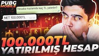 100.000 TL YATIRILMIŞ HESAP!! (7. SEVİYE BUZ DİYARI M416) | PUBG Mobile Kutu Açılımı 2020