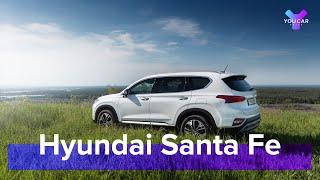 Hyundai Santa Fe 2.2 CRDi 4WD 2019: цена оправдана?  Тест-Драйв и Обзор #YouCarDrive...