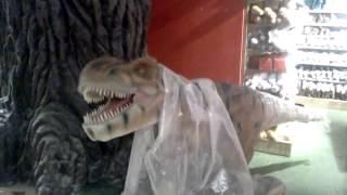 Динозавр. Детский мир. Москва. Лубянка.