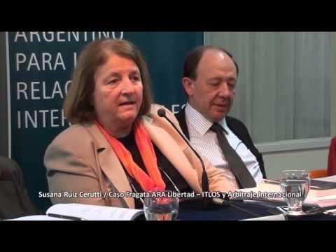 Caso Fragata ARA Libertad - ITLOS y Arbitraje Internacional - Ruiz Cerutti PARTE 8