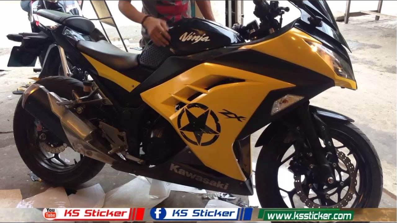 Kawasaki Ninja Motorcycle New Sticker Ninja ZX Kawasaki KS - Kawasaki motorcycles stickers