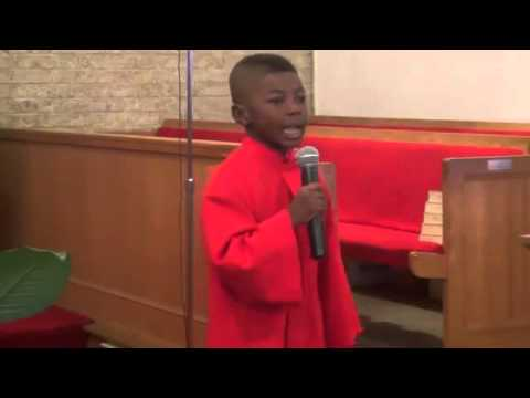 Sunday Morning (Mary Mary) led by 5 year old Christopher Lawson - Contee Children's Choir