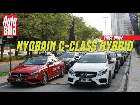 Mercedes Benz C 350 e First Drive Review Auto Bild Indonesia