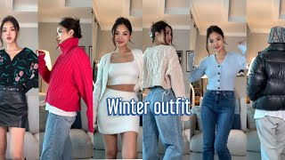 [Eng]❄️ WINTER OUTFIT 겨울에 따듯하고…