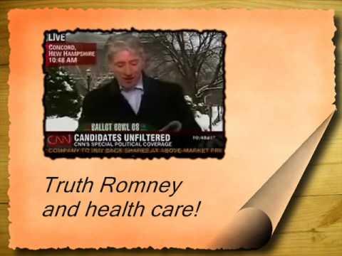 Romney healthcare!