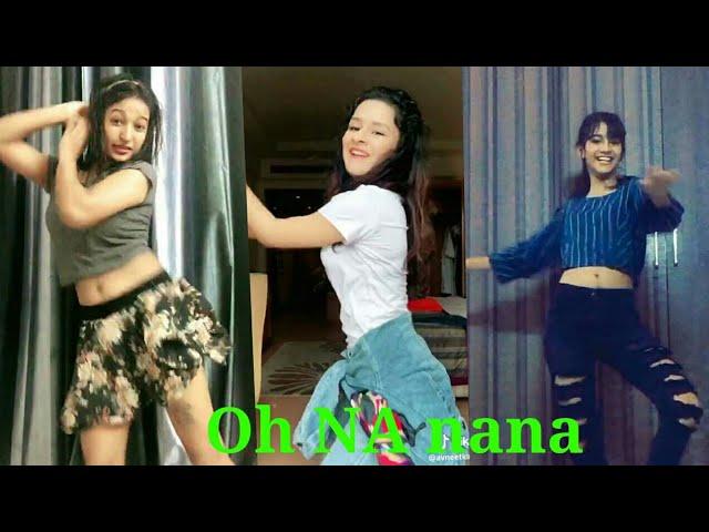 #Oh Nanana dance# Girls Boys Challenge Compaction Try not to laugh Challenge Vigo bigo videos hd