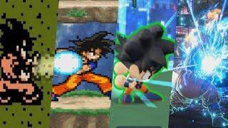 Evolution of Kamehameha in Jump Games 1989-2019
