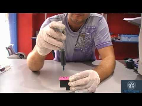 refilling hp 300 301 300xl 301xl 901 901xl color - Hp 301 Tri Color Ink Cartridge