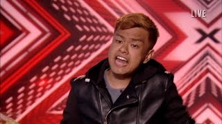 The Xtra Factor UK 2016 Auditions Week 1 Sunday Kittipos Maspun's 2nd Song Full Clip S13E02