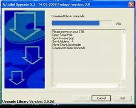 ali mini upgrade 6.10 startimes gratuit