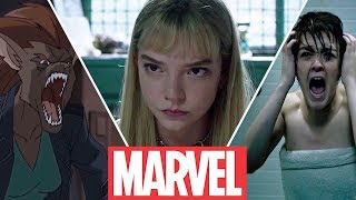 The New Mutants (2021)  - Magik , Wolfsbane , Cannonball , Sunspot , Moonstar (Then and Now )