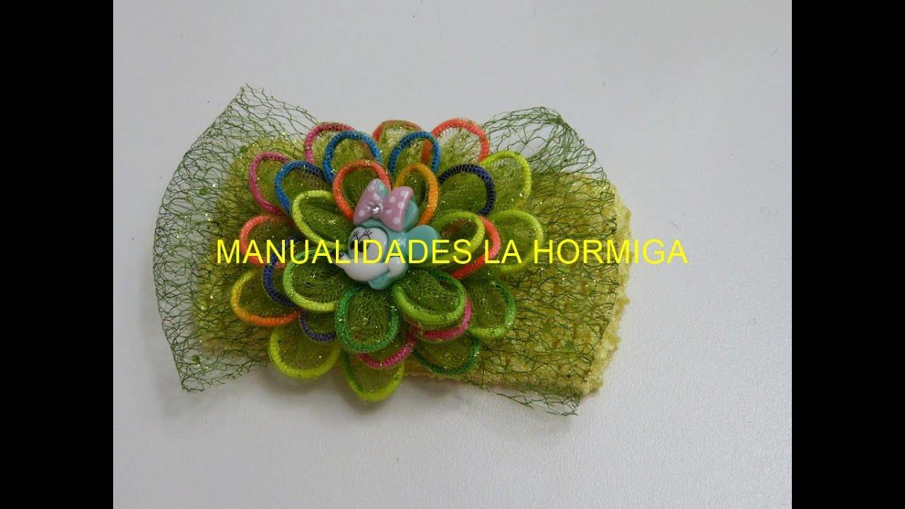 Como hacer lazos f cil flor tela organza organza bows - Telas para decorar ...