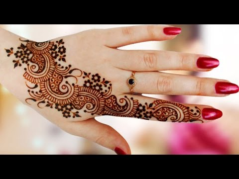Latest Mehndi Design In Hindi Khas Mouko Ke Liye Youtube