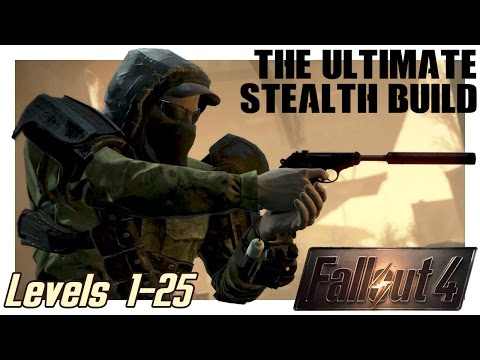Creating the Epic Sneak Character in Fallout 4 🐱👤 Best Stealth Build