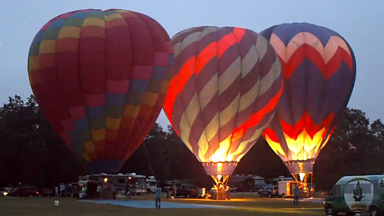 Balloons Rising At Sonoma County Hot Air Balloon Classic