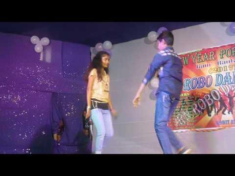 The Humma Humma Song Misthi Roshni & Bikash Perfomance(RN ROBO DANCE CLUB New Year Program2017)