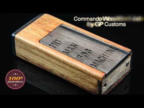 Commando wood box mod by GP Customs
