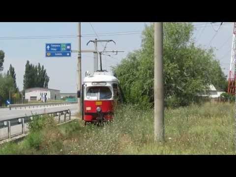 TRAMVAI BOMBARDIER SGP al RAT Craiova la capatul de linie TERMO   651